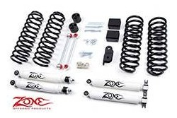 Wrangler JK 4 drzwi 3 Zone Lift Kit 07-11