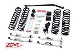 Wrangler JK 4 drzwi 4 Zone Lift Kit 07-11