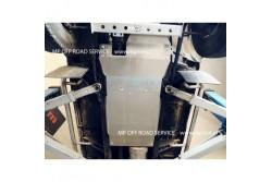 Osłona skrzyni biegów i reduktora do Defender 90 aluminiowa.