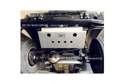 Osłona HD2 drążków przednich do Land Rover Defender...