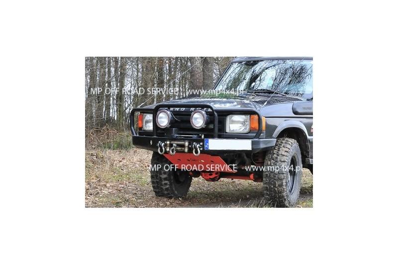 Zderzak przedni HD2 do Land Rover Discovery I z orurowaniem pełnym (bull barem)