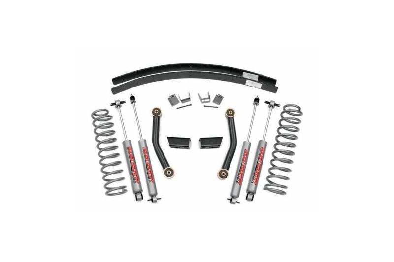 "3"" Rough Country Lift Kit Pro zawieszenie - Jeep Cherokee XJ"