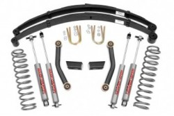 "3"" Rough Country Lift Kit Pro II zawieszenie - Jeep..."