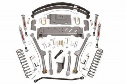 "4,5"" Long Arm Rough Country Lift Kit zawieszenie - Jeep Cherokee XJ"