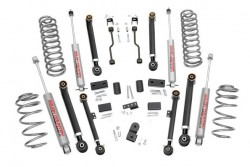 "4"" Rough Country X-Flex Lift Kit zawieszenie - Jeep..."