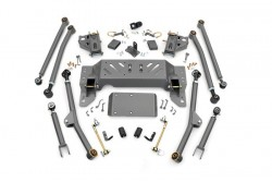 "4"" Long Arm Rough Country Upgrade Lift Kit - Jeep..."