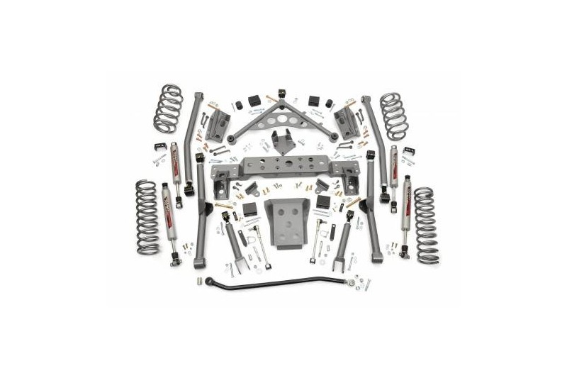 """4"""" Rough Country Long Arm Kit zawieszenie - Jeep Grand Cherokee WJ WG"""