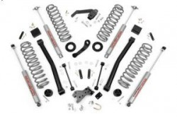 "3,5"" Rough Country Series II Lift Kit - Jeep Wrangler JK 2 drzwi"