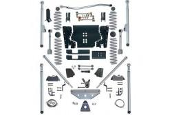 4.5'' Extreme Duty Long Arm Tri-Link Lift Kit Rubicon Express - Jeep Wrangler LJ 04-06
