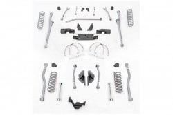 "3,5"" Extreme Duty Long Arm Lift Kit Radius Przód / 4 Link Tył RUBICON EXPRESS - Jeep Wrangler JK 2 drzwi"