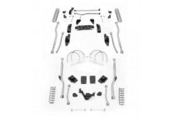 "4,5"" Extreme Duty Long Arm Lift Kit 4 Link Przód / Radius Tył RUBICON EXPRESS - Jeep Wrangler JK 2 drzwi"
