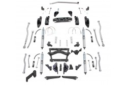 Extreme-Duty Long Arm 4-Link Kit, Coil-over RUBICON...