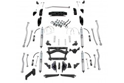 Extreme-Duty Long Arm 4-Link Kit, Coil-over, Odboje...