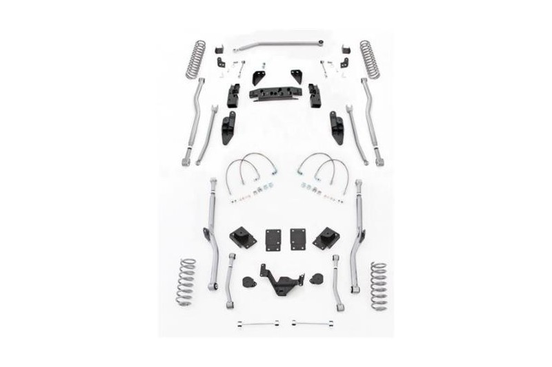 "3,5"" Extreme Duty Long Arm Lift Kit 4 Link Przód / Radius Tył RUBICON EXPRESS - Jeep Wrangler JK 4 drzwi"