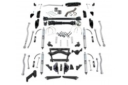 Extreme-Duty 4-Link Long Arm Coil-over Kit Odboje...