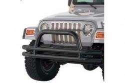 Zderzak przedni rurowy z pałąkiem czarny Smittybilt - Jeep Wrangler YJ