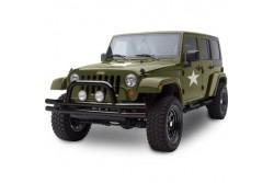 Zderzak przedni rurowy SMITTYBILT czarny połysk - Jeep Wrangler JK