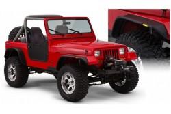 Poszerzenia nadkoli Bushwacker Flat Style - Jeep...
