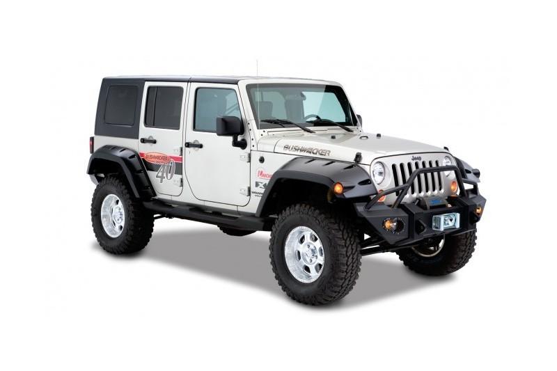 Poszerzenia nadkoli tylne Bushwacker Pocket Style - Jeep Wrangler JK 4 drzwi