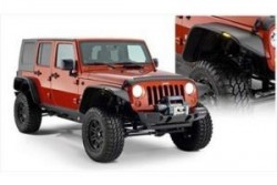 Poszerzenia błotników Bushwacker Flat Style - Jeep...