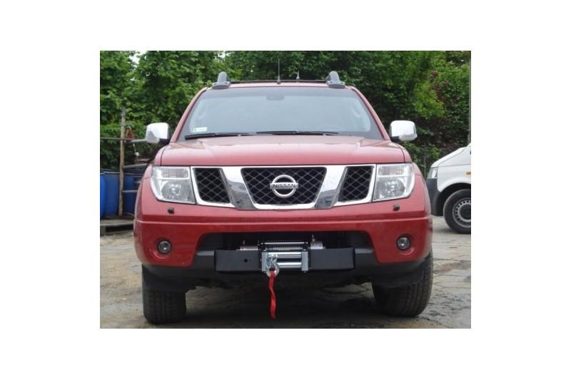 Płyta montażowa pod wyciągarkę - Nissan Navara D40 2005-2010