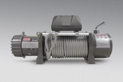 Wyciągarka MORE 4X4 ECONO 12000lbs 12V,  lina stalowa, rolki, pilot b/p