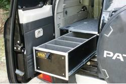 Zabudowa Szufladowa Nissan Patrol Three Drawers