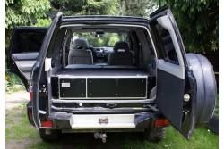 """Zabudowa Szufladowa Nissan Patrol Y61 - """" Zabudowa Richard"""""""