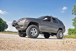 """4"""" Rough Country Long Arm Upgrade Kit Pro zawieszenie - Jeep Grand Cherokee WJ WG"""