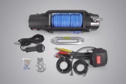 Wyciągarka MORE 4X4 X-PRO 13000lbs 12V, syntetyk, ślizg, pilot b/p