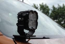 Mocowania lamp do maski Volkswagen Amarok - More4x4