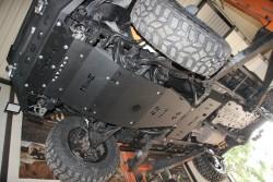 Stalowa osłona podwozia, reduktora - Toyota Land Cruiser 120
