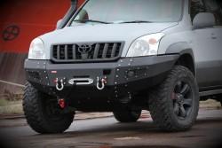 Zderzak przedni stalowy Toyota Land Cruiser J120...