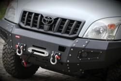 Zderzak przedni stalowy More 4x4 do Toyoty Land Cruiser J120