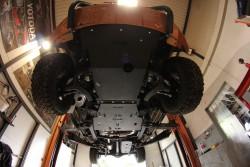 Stalowa osłona podwozia, przednia - Volkswagen Amarok