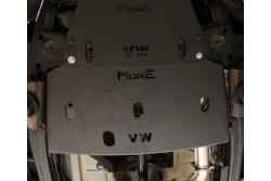 Stalowa osłona podwozia, reduktora - Volkswagen Amarok
