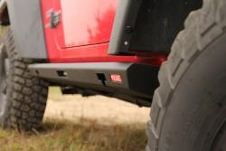 Progi skrzynkowe Jeep Wrangler JK Short - MorE 4x4