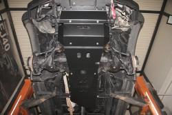 Stalowa osłona podwozia, skrzyni biegów i reduktora - Toyota Hilux Vigo 05-15 manual