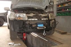 Płyta montażowa wyciągarki Suzuki Grand Vitara II