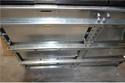 ZABUDOWA SZUFLADOWA UNIWERSALNA - 130cm x 100cm przesuwane dwie półki