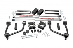 "3.5"" Rough Country Bolt-On Lift Kit Zawieszenia - Toyota Tundra 07-18 4WD"