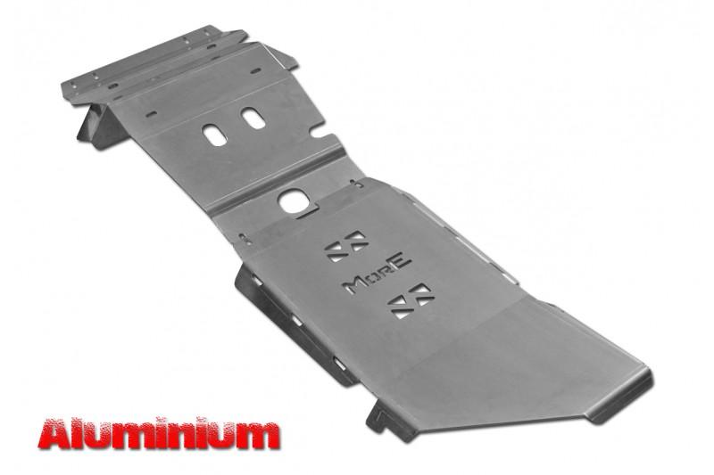 Zestaw aluminiowych osłon podwozia MorE 4x4 - Toyota Hilux Vigo 05-15