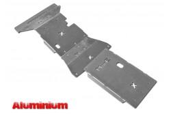 Zestaw aluminiowych osłon podwozia MorE 4x4 - Mercedes X-Class 2.3L