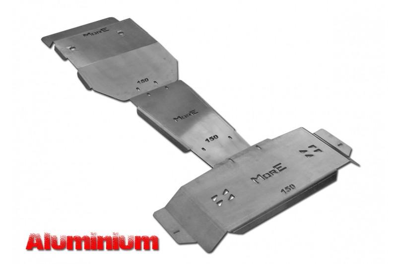 Zestaw aluminiowych osłon podwozia MorE 4x4 - Toyota Land Cruiser J150