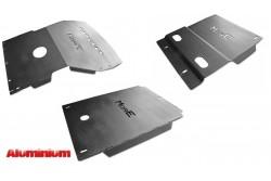 Zestaw aluminiowych osłon podwozia MorE 4x4 - Toyota Land Cruiser J95