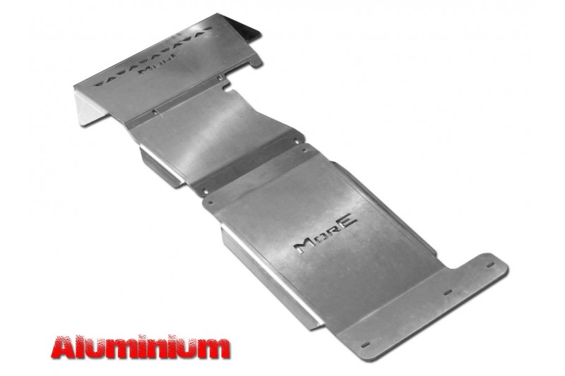Zestaw aluminiowych osłon podwozia MorE 4x4 - Ford Ranger T6 / T7 11+