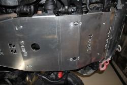 Aluminiowa przednia osłona podwozia, silnika - Toyota Land Cruiser 120