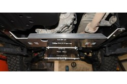Aluminiowa osłona podwozia, reduktora - Toyota Land Cruiser 120
