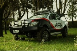 Zderzak przedni stalowy AFN Ford Ranger T6 od 2012