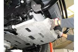 Osłona chłodnicy AFN stalowa Ford Ranger T6